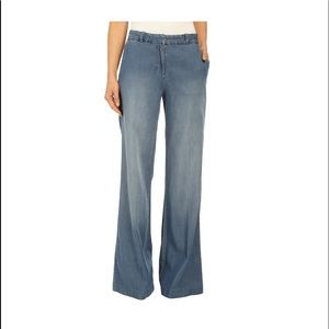 NWT Michael Kors Wide Leg Dress Jeans